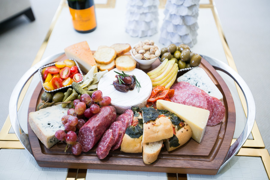 Create a decadent Holiday Cheese Board by Fashionable Hostess6