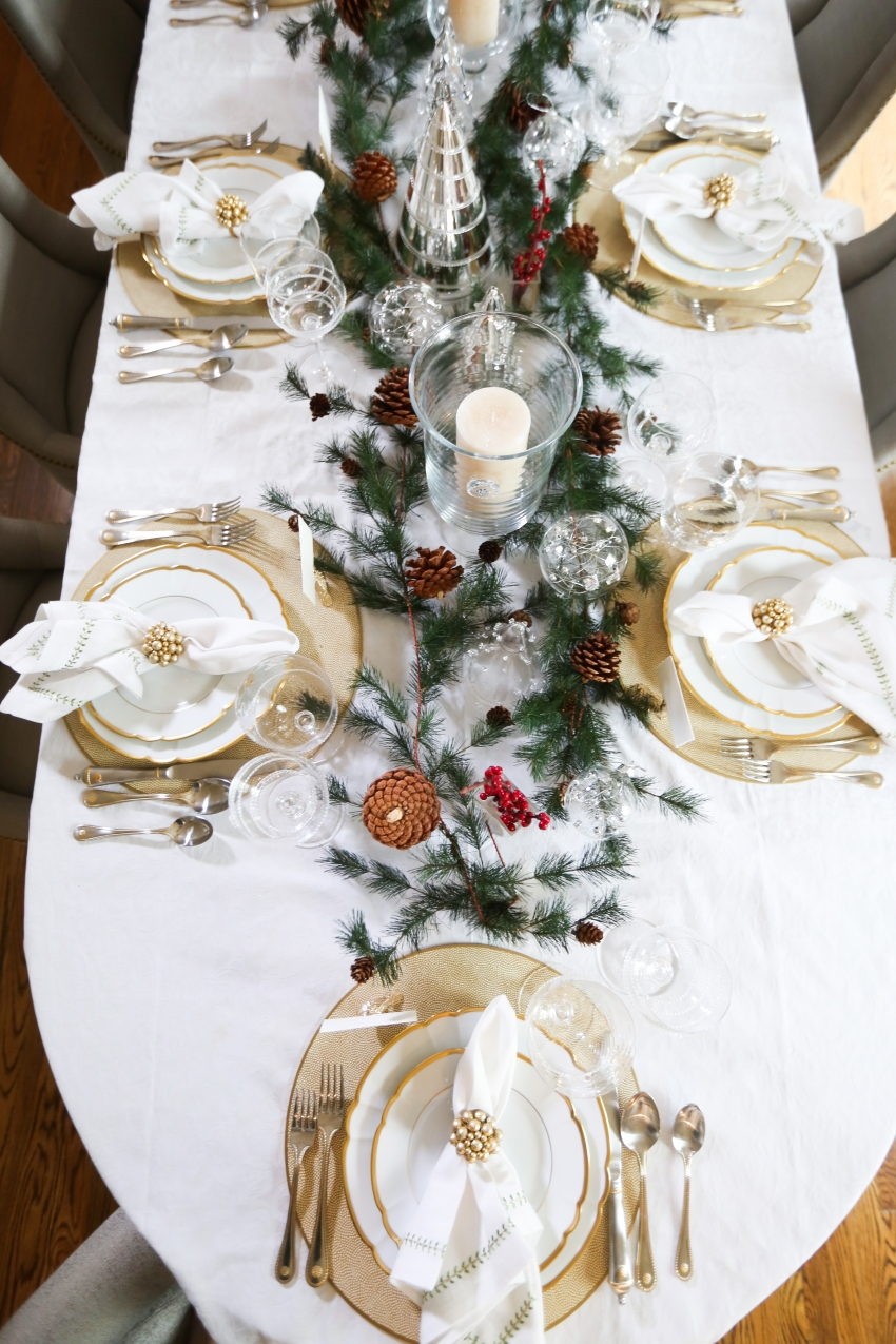Style your Table for Christmas with Fashionable Hostess + StyleBluePrint Nashville 3