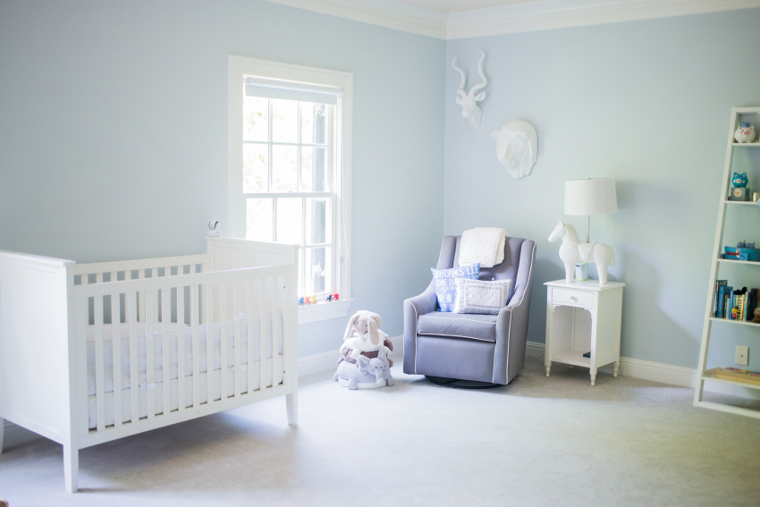 Nashville Home Tour {The #TNChateauFH} Babys Room