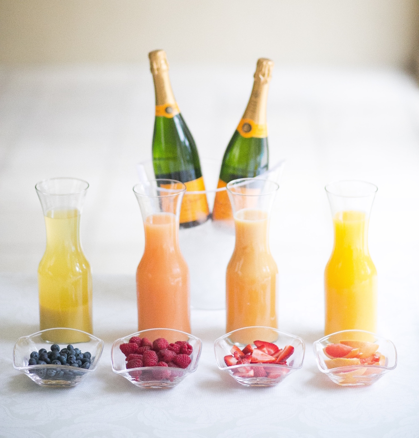 Create a mimosa bar by Fashionable Hostess 2