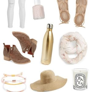 neutral loves on fashionable hostess