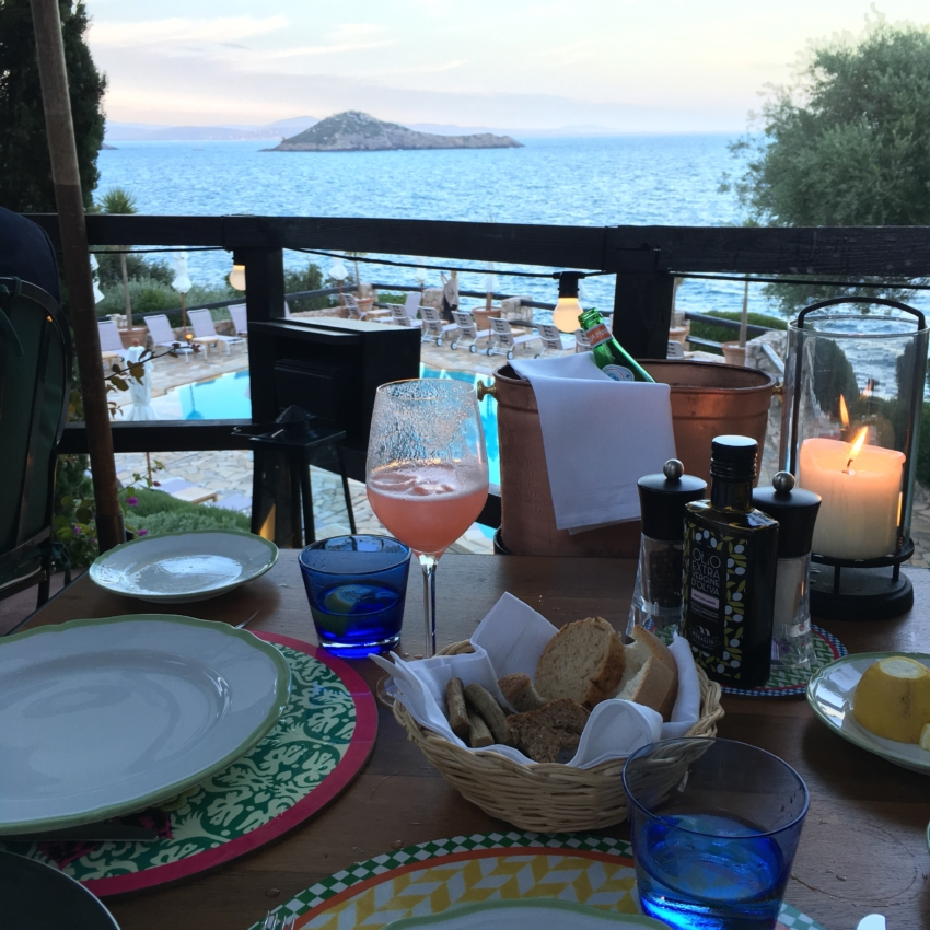 Bellinis and Dinner at Hotel il Pellicano in Tuscany - By Fashionable Hostess