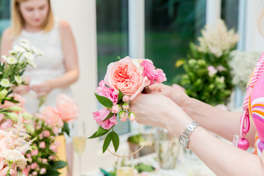 Flower Crown Party in Miami -Bellinis & Blooms by Fashionable Hostess + Crowns by Chirsty2