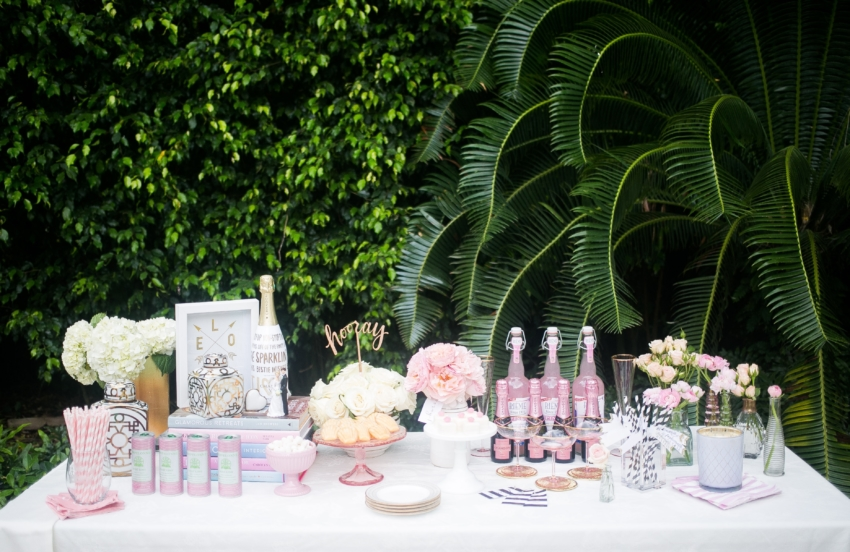 How to Host a Bridal Shower via Martha Stewart styled by Fashionable Hostess