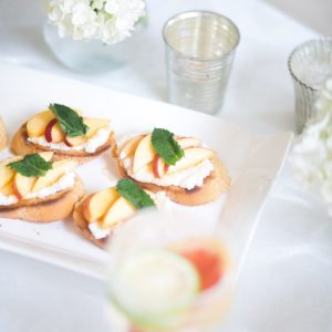 Apricot Crostini Recipe by Fashionable Hostess 1
