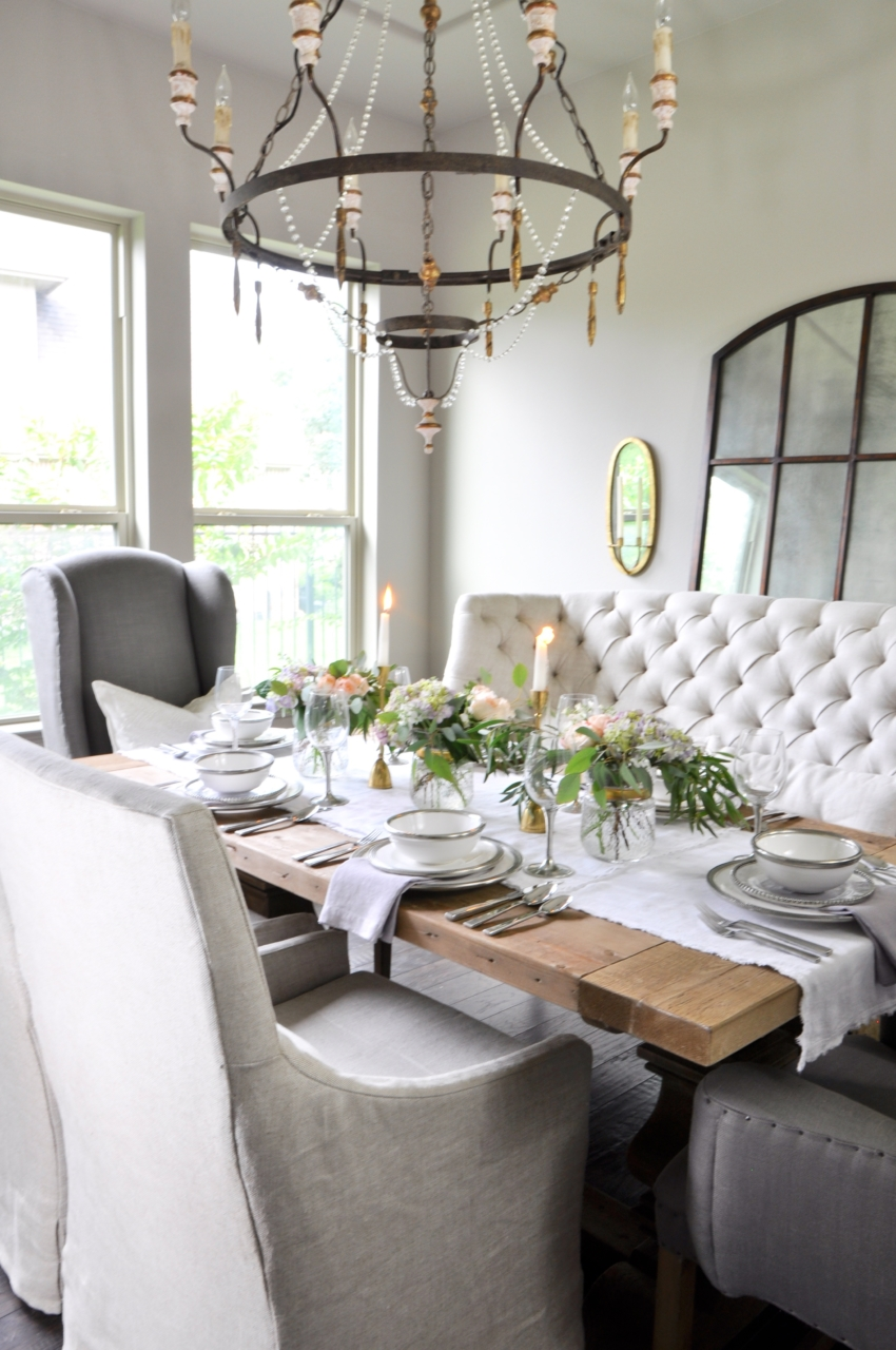 FH Dinner Party Series Guest - Jennifer of Decor Gold Blog - rustic chic tablescape
