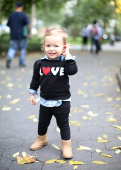 Baby LOVE Sweater from Old Navy #OldNavyStyle