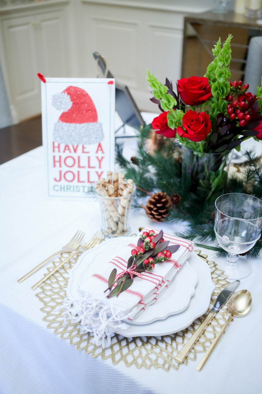 & Christmas Table: Three Table setting Ideas - Fashionable Hostess