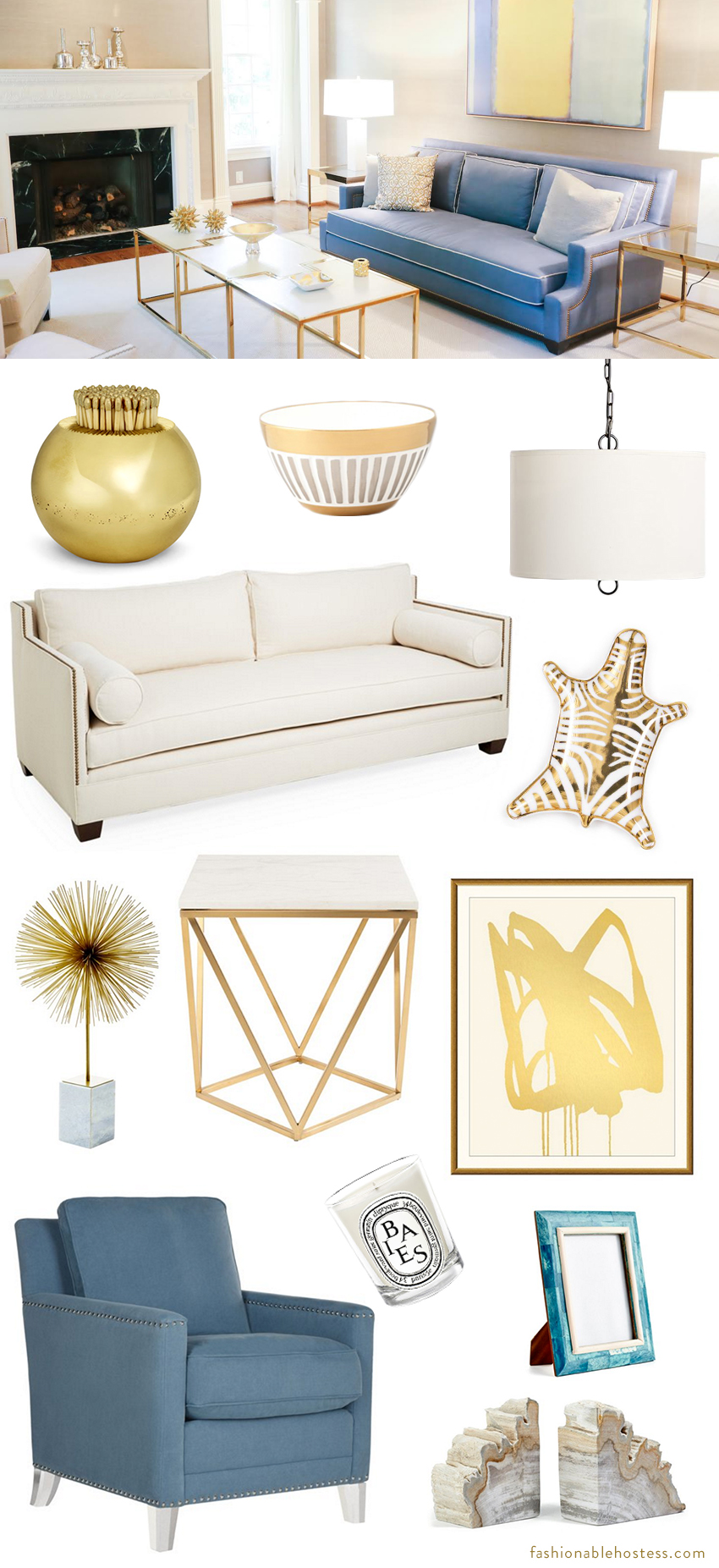 Formal Living Room Get The Look Fashionable Hostess