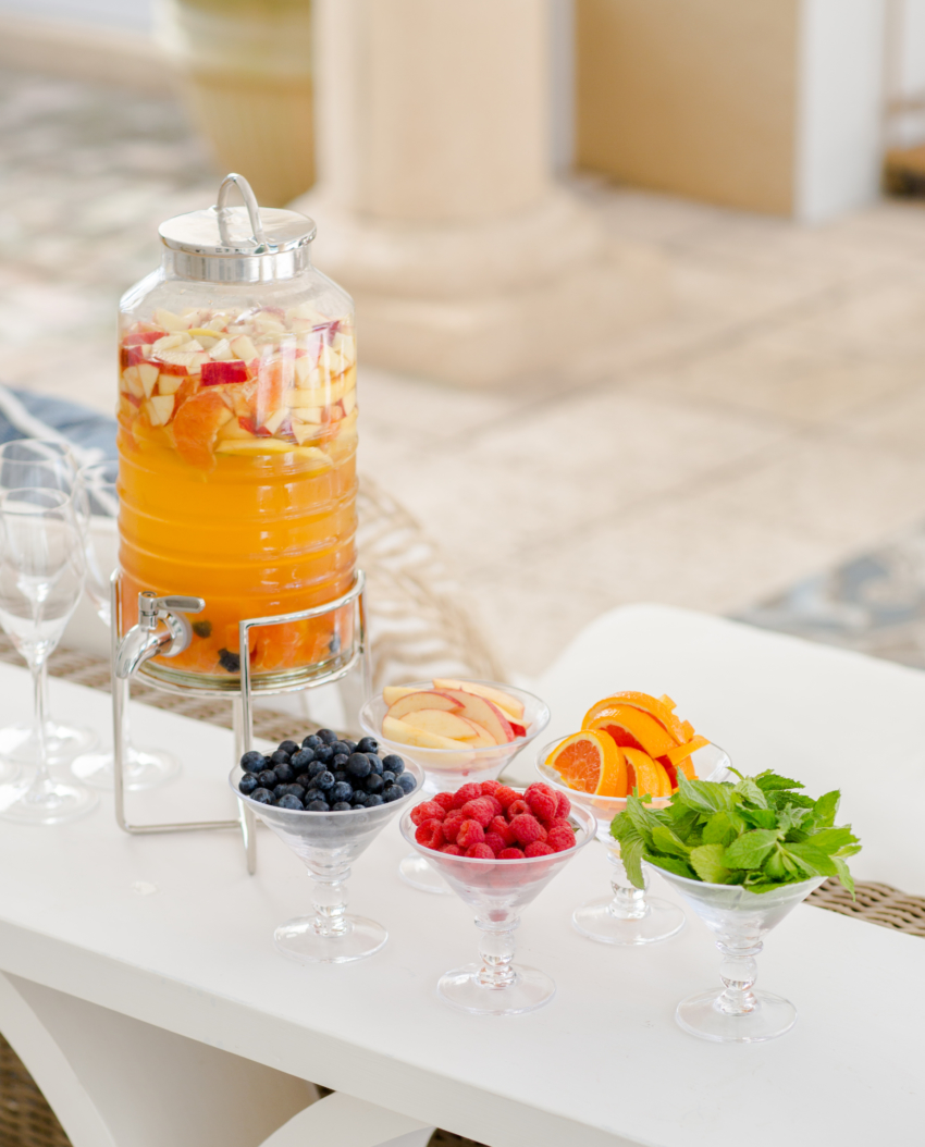 How to DIY Sangria Bar by Fashionable Hostess copy