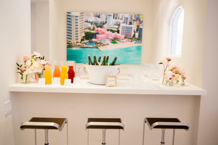 Make a Bellini Bar by Fashionable Hostess at the Bellinis & Blooms Party