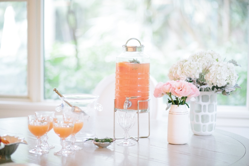 Prettiest Party Drinks by the Fashionable Hostess - party punch