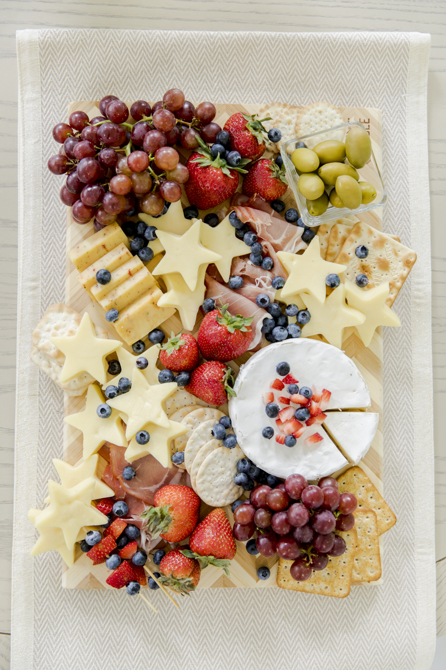 Star Spangled Cheese Platter - Fashionable Hostess